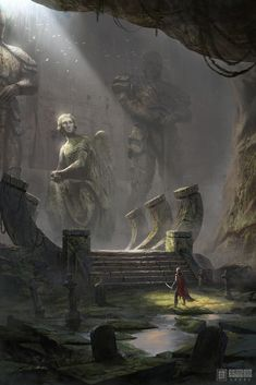 Ancient Graveyard by Ivan Sevic – Valery Yukihô – wallpaper hd Anime Art Fantasy, Fantasy Concept Art, Fantasy Kunst, Fantasy Rpg, Medieval Fantasy, Fantasy Artwork, Fantasy World, Fantasy City, Dark Fantasy