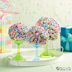 Dum Dum Lollipop Topiaries
