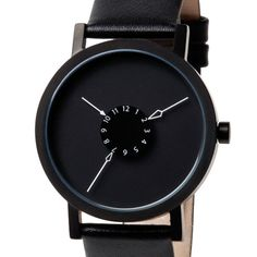 Nadir / leather band|新鋭プロダクトデザイナーがデザインしたミニマルな腕時計 | MONOCO