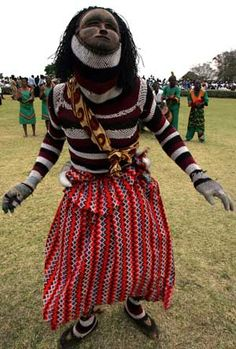 A traditional dancer performs during ceremony, Lusaka, Zambia Out Of Africa, East Africa, Congo, Tribal Costume, Victoria Falls, African Countries, Africa Travel, Tribal Art, Beautiful People