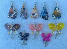 Butterfly pendants