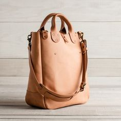 Leather Garrison Bag | Guideboat Company