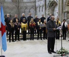 """Una interpretación de la """"Alborada para Rosalía"""" celebrada en toda Galicia inaugura el programa oficial de actos con motivo de los 150 años de la publicación de la obra cumbre de la poetisa gallega más universal"""