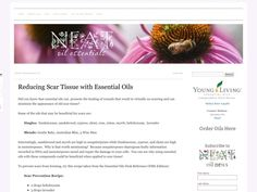 Reducing Scar Tissue with Essential Oils