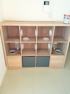 Large rabbit hutch: A simple DIY project for your bunny - IKEA Hackers - Rabbit Hutches: Outdoor & Indoor Rabbit Hutche Models Rabbit Hutch Indoor, Indoor Rabbit Cage, Rabbit Hutch Plans, Large Rabbit Hutch, Rabbit Cages, Rabbit Hutches, Rabbit Cage Diy, Small Rabbit, Diy Bunny Cage
