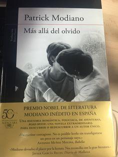 Más allá del olvido #nobel #literatura #modiano