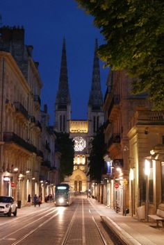 #cathedral #bordeaux #street #nightview #france