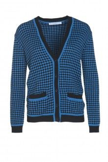 SIS by Spijkers en Spijkers BUBBLE KNIT CARDIGAN (BLACK/BLUE)  215EURO  http://spijkersenspijkers.nl/shop/all-products/bubble-knit-cardigan-black-blue.html #cardigan #knitwear #bubbleknit #fashion #fashion2013 #fashion2014 #style #mode #inspiration #christmasgift #christmas #gift