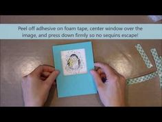 Unity Stamp Co Quick Tip   Penguin Shaker Card | Unity Stamp Co
