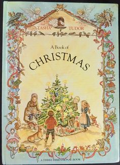 1979 Tasha Tudor's A Book Of Christmas (Pop-up Advent Calendar) by BasketCaseBooks on Etsy
