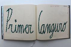 LAURA GUILLÉN 19-8-15 diario arte artista letras sketchbook art artist letters