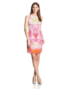 Elie Tahari Women's Holly French Bouquet Printed Eyelet Sleeveless Dress, Blossom, 14 Elie Tahari http://www.amazon.com/dp/B00H07VQHM/ref=cm_sw_r_pi_dp_Sk35vb0WNP7D7