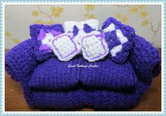 Sweet Nothings Crochet: SOME REALLY CUTE TOY FURNITURE - 4