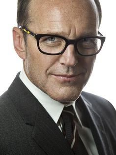 Clark Gregg looking more gorgeous than any man should.