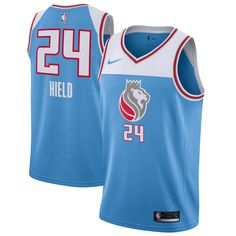 e3d20a8de18 Buddy Hield Sacramento Kings Nike Swingman Jersey Blue - City Edition