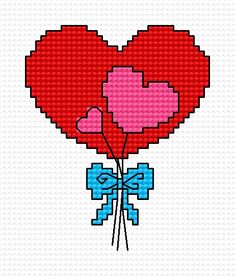 Heart (love, Valentine s Day, gift, heart, bunch of flowers)