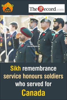 Sikh remembrance service honours soldiers who served for Canada Pte. Buckam Singh may have died with only a few of his fellow soldiers around him at a Kitchener hospital 97 years ago, but his life is commemorated each year by hundreds of area Sikhs. Read More http://barusahib.org/…/sikh-remembrance-service-honours-so…/