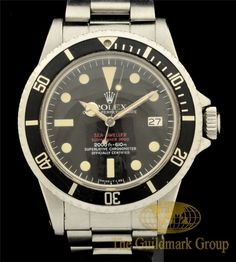 Men's Rolex Double Red Sea-Dweller Ref# 1665  40MM Circa 1974