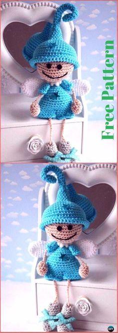 Crochet Guardian Angels Free Pattern - Crochet Angel Free Patterns