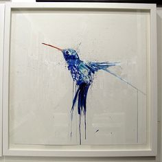 Dave White Humming Bird