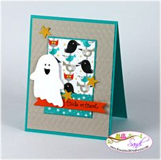 Stampin Up Fall Fest Trick or Treat