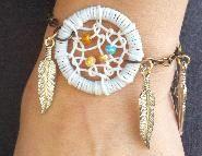 Cute Dreamcatcher Bracelet!