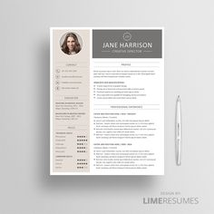 Resume Template  Cover Letter Template For Word  Microsoft Word