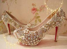 peacock  wedding shoes rhinestone bridal shoes by sunyshoping, $178.00