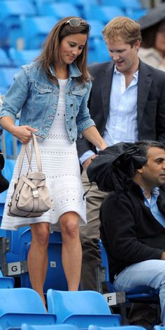Pippa Middleton at Wimbledon 2011 / Grazia Fashion