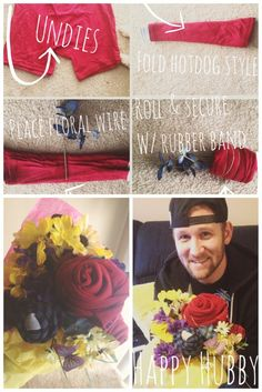 14 Days of Valentines- Underwear Bouquet. Bf Gifts, Love Gifts, Boyfriend Gifts, Diy Valentines Gifts For Him, Diy Gifts For Him, Valentine Ideas, Man Bouquet, Year Anniversary Gifts, Romantic Ideas