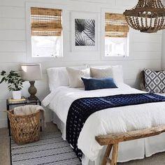 hampton meets boho bedroom - Google Search