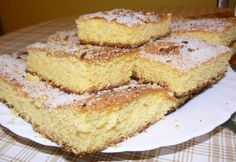 Kukoricamálé sütemény Hungarian Recipes, Health Eating, Paleo Dessert, Healthy Sweets, Sweet Cakes, Trifle, Potato Recipes, Vanilla Cake, Banana Bread