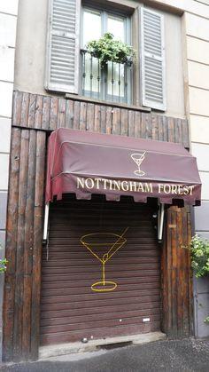 Nottingham Forest Cocktail Bar - viale Piave Nottingham Forest, Milan, Cocktail, Bar, Travel, Places, Viajes, Destinations, Traveling