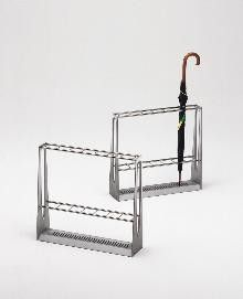 wire rectangle umbrella stand