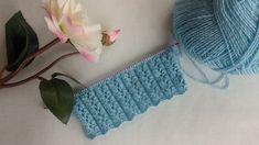 Lastikli Kahve Çekirdekleri Örgü Modeli Yapılışı Baby Knitting Patterns, Crochet Designs, Diy And Crafts, Crochet Necklace, Crochet Hats, Make It Yourself, Allah, Tube, Dots