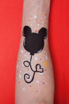 Mickey Mouse Face Painting