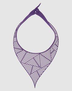 Marzio Fiorini's rubber necklace