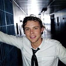 Ashton<<<You can legit see his accent.
