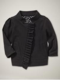 "babygap says it best: ""girlie biker jacket"""