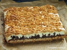 Ulubione ciasto teściowej Pizza Recipes, New Recipes, Baking Recipes, Cake Recipes, Vegetarian Recipes, Polish Desserts, Sweets Cake, Best Food Ever, Food Cakes