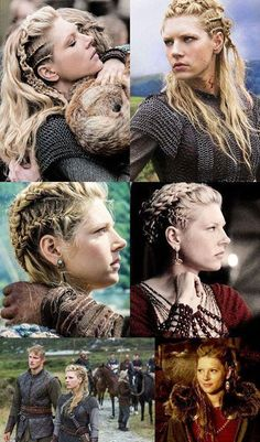 New ethnic hair Braids, braids and Dreadlocks in a brilliant trendy look Pretty Hairstyles, Braided Hairstyles, Wedding Hairstyles, Viking Hairstyles, Popular Hairstyles, Vikings Hair, Vikings Tv, Lagertha Hair, Vikings Lagertha