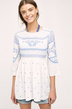 Meadowbrook Blouse #anthropologie