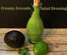 Creamy Avocado Salad Dressing Recipe