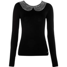 Lipsy Beaded Peter Pan Collar Top Profile Photo