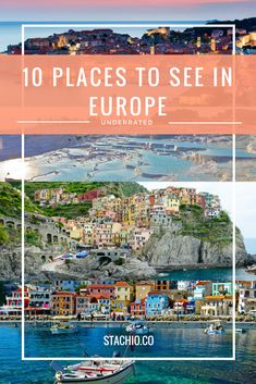 Are you looking for a new place to visit in Europe? These are my top 10 underrated places to see in Europe