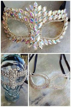 MARDI GRAS Mask for Charlene