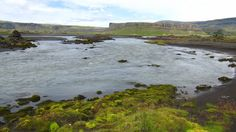 Typical icelandic river