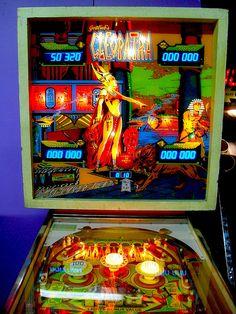 Pinball Wizard, Arcade Machine, Vintage Games, Cleopatra, Jouer, Jukebox, Wizards, Cool Stuff, Pain