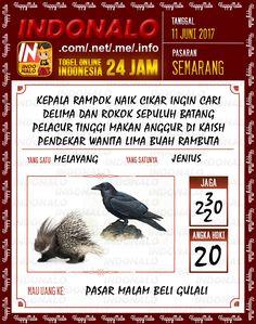 Prediksi JP 6D Togel Wap Online Indonalo Semarang 11 Juni 2017