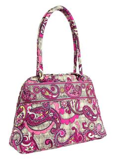 Vera Bradley Bowler in Paisley Meets Plaid ( Purse, Handbag) #VeraBradley